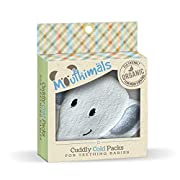 Mouthimals Organic Baby Frozen Teether Cuddly Elephant