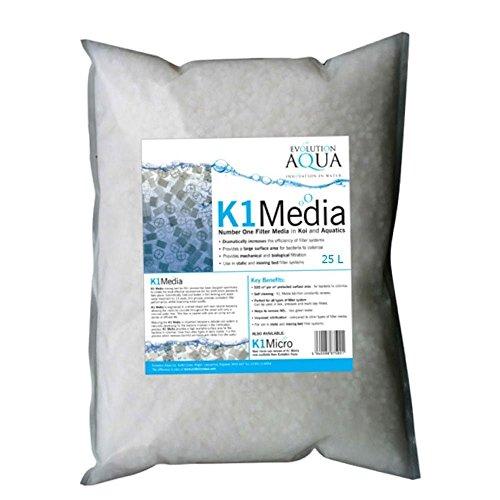 Evolution Aqua Kaldnes K1 Media 25ltr for sale  Delivered anywhere in USA
