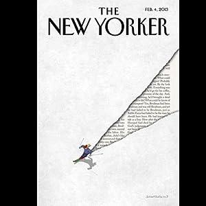 The New Yorker, February 4th 2013 (Michael Specter, Adam Higginbotham, James Surowiecki) Periodical