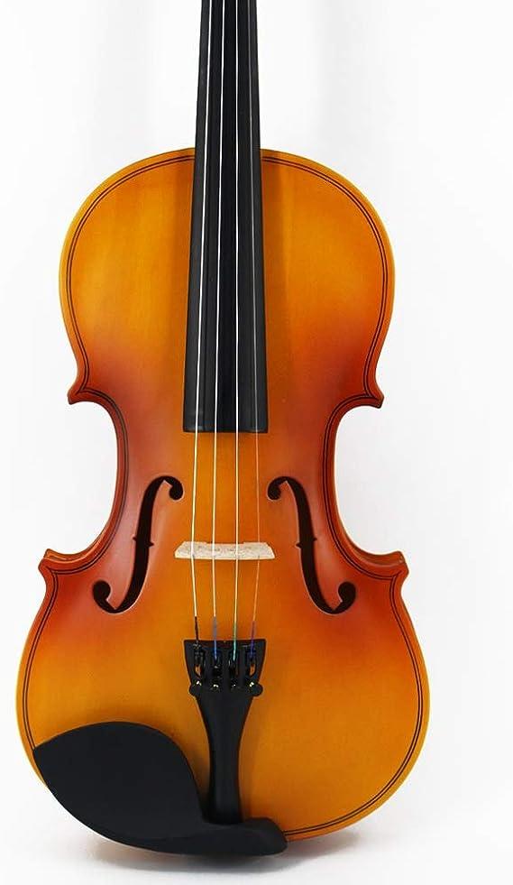 Color : Brown ACHKL Matte plywood student violin practice common in high-end violin ACHKL