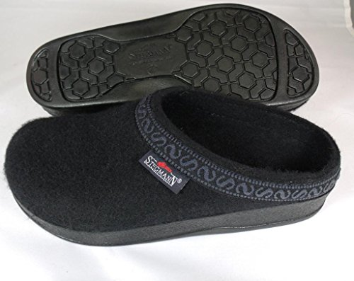 Pictures of Women's Wool-Flex clog L108p Black Graphite 2