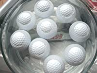 A99 Golf 6pcs Floater Balls White + 6pcs Orange Floater Balls