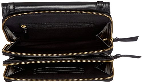 Royal RepubliQ Raf Eve - Borse a secchiello Donna, Schwarz (Black), 5x15x22 cm (B x H T)