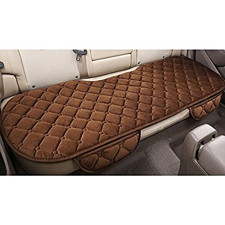 Amazon.com: Sedeta Silk Velvet Auto Car Vehicle Long Rear Seat Chair ...