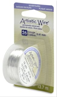 Amazon.com: Beadalon Artistic Wire 20-GaugeTarnish Resistant ...