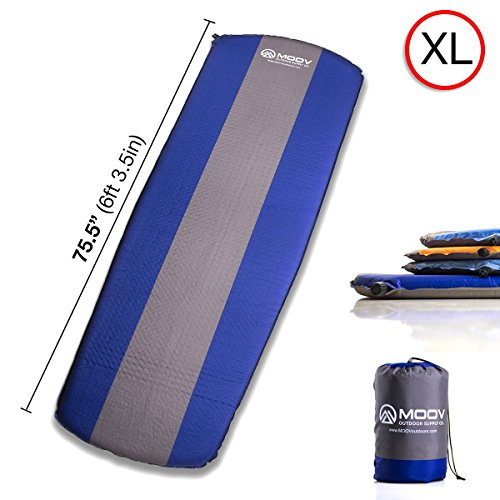 Lightweight Self-Inflating Mat with EZ-Pack Carrying Case