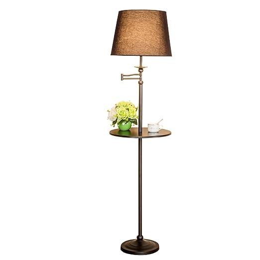 WEBO Home- Lámpara de pie Salón Simple Dormitorio Bandeja Vertical ...