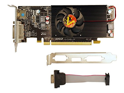 VisionTek Radeon R7 240 SFF 2GB DDR3 (DIV-D, HDMI, VGA Tarjeta gráfica - 900701