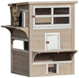 Trixie Pet Products XX-Large Natura Cat's Home, Gray/White