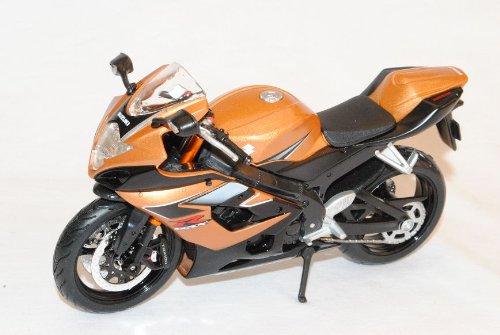 SUZUKI GSX R1000 Gold marrone 1/12 Maisto modello Frecce con o senza individiuellem richiesta Targa Modellcarsonline