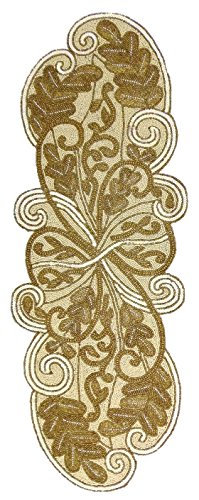 Cotton Craft Scrolling Ivory Gold complement product image