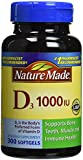 Nature Made Vitamin D3, 1000IU, 2x300 Count