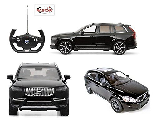 new-114-w-b-rastar-rc-radio-control-black-volvo-xc90-licensed-by-rastar