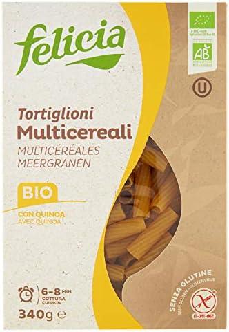 4穀ブレンド(トウモロコシ、米粉、そば粉、キノア)のグルテンフリーパスタ (トルティリオーニ) Gluten Free Multi grain pasta
