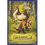 Shrek Poster and Frame (Plastic) - Part 2, One Sheet (36 x 24 inches)