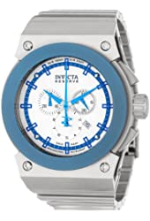 Invicta Men's 11593 Akula Reserve Chronograph Silver Textured Dial Stainless Steel Watch
