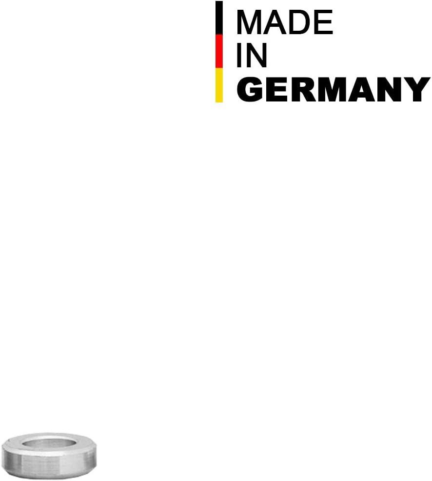 FASTON Aluminium Distanzh/ülsen M6 /Ø innen 6,5 mm 4 St/ück Rohrbuchse H/ülsen Abstandsh/ülsen Distanzbuchsen Abstandsbuchsen Schildhalter /Ø Au/ßen 10 mm L/änge 5 mm