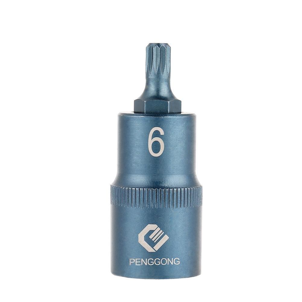 1 1/2 Inch S2 Steel Power Tools Screwdriver EINSÄ TZE12 Shaft Electric Screwdriver Socket Bit Length 50 mm Hilitand