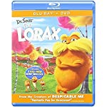 Cover Image for 'Dr. Seuss' The Lorax Combo Pack (Two Discs: Blu-ray + DVD + Digital Copy + UltraViolet)'