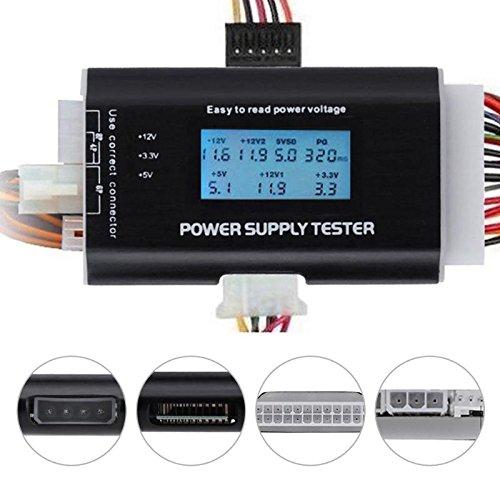 AMZVASO - Digital LCD Display Pc Power Supply Tester Checker Power ATX Measuring Tester Electronic Repair Tool by AMZVASO (Image #2)