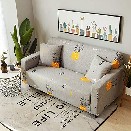 Hot Geometric s Spandex Elastic Sofa Predector Slipcover Case Cosy Anti-Dirty Stretch Sofa   3, Three Seater