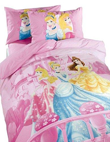 Copripiumino Principesse.Set Copripiumino Principesse Disney Story Caleffi Amazon It