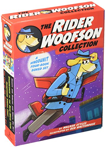 1-4: The Rider Woofson Collection: The Case of the Missing Tiger's Eye; Something Smells Fishy; Undercover in the Bow-Wow Club; Ghosts and Goblins and Ninja, Oh My!