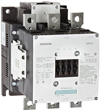 Siemens 3RT10 65-6AF36 Motor Contactor, 3 Poles, S10 Frame Size ...