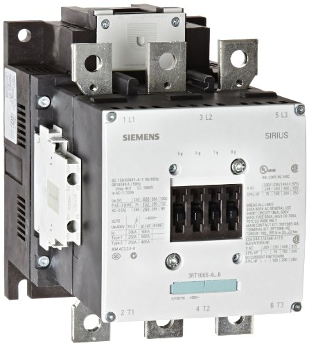 Siemens 3RT10 65-6AF36 Motor Contactor, 3 Poles, S10 for sale  Delivered anywhere in USA