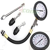 Auto Tune Up Quick Cylinder Compression Pressure Check Tester Meter Gauge 300PSI