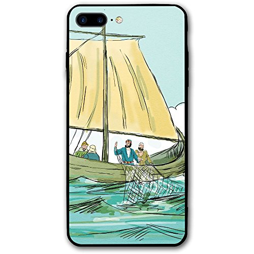 - WIALFIG Seagull Fisherman Sailing Boat IPhone 8 Plus Shield Is Full Of Hardness, Dust-proof And Anti Fingerprint Design Of Mobile Phone Shell