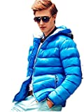 Men's Outerwear Jackets & Coats Boy's Cotton Padded Zip Quilted Light Hooded Sportswear