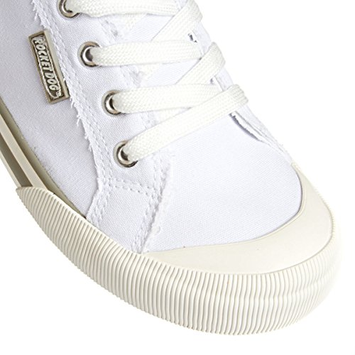 Dog White Jazzin femme Baskets Rocket mode SCTTx
