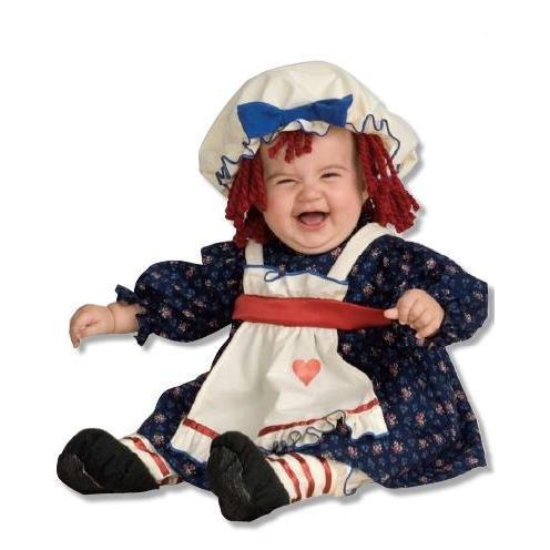 [Yarn Babies Ragamuffin Dolly Infant Costume Size Infant] (Ragamuffin Costume)
