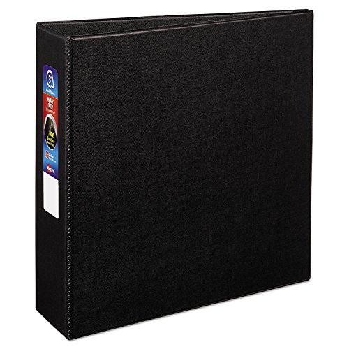 Ring 3 Binders Avery (Avery Heavy-Duty Binder with 3-Inch One Touch EZD Ring, Black (79983))