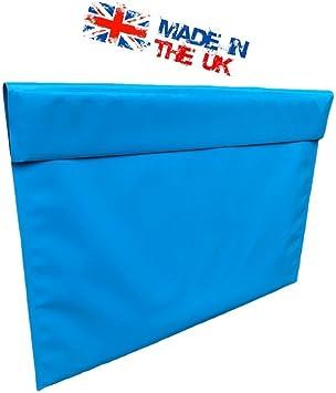1 x A2 Artist Portfolio Art Work Carry Storage Case Blue