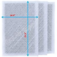 Air Ranger Replacement Filter Pads 20X24 (3 Pack) White