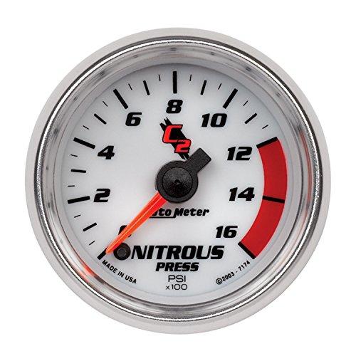 Auto Meter 7174 C2 Full Sweep Electric Nitrous Pressure - C2 Full Sweep