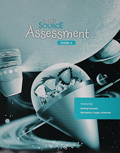 Write Source: Assessment Book (copymaster) Grade 6