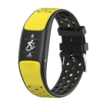 WLLIT Smart Watch,Pulsera Inteligente,2019 Pulsera Inteligente ...