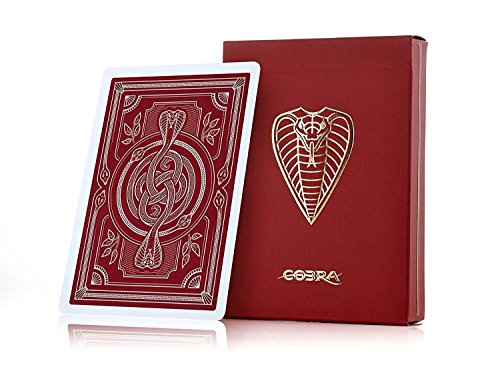 JP GAMES LTD Cobra Playing Cards - A Premium Deck Housed in Luxury Packaging]()