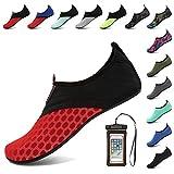 Coolloog Water Shoes Barefoot Quick Dry Aqua Socks Surf for Yoga Beach Swim for Men Women