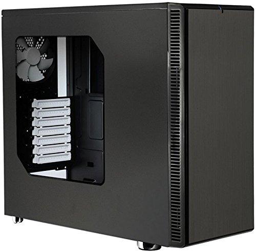 FRACTAL DESIGN FD-CA-DEF-R4-BL-W Fractal Design Define R4 No Power Supply ATX Mid Tower w/ Window (Fractal Design Cpu Cooler compare prices)