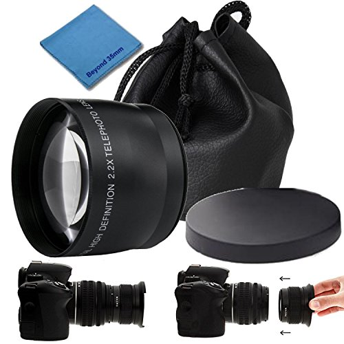 Pro Series 52mm 2.2x HD Auto Focus Telephoto Auxiliary Lens