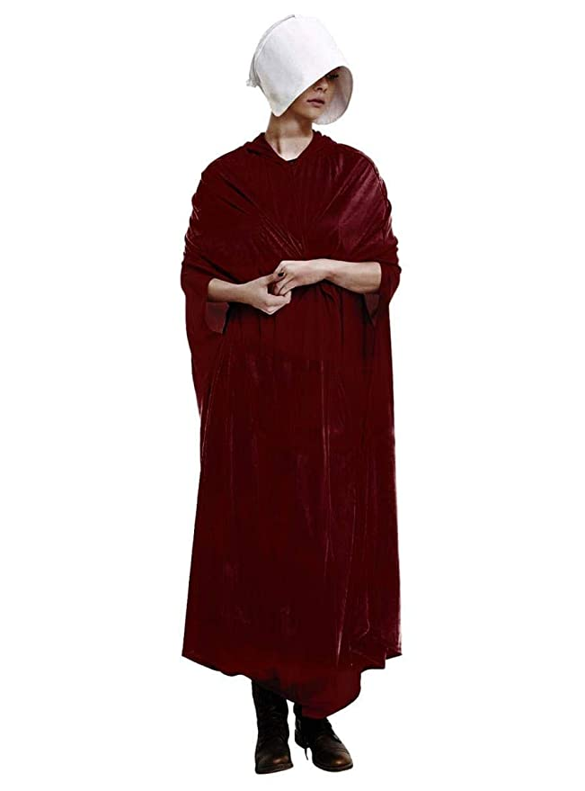 Handmaids Tale Adult Costume Velour Robe and Hat | Dresses for ...