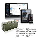 Bluetooth-Speakers-iAmer-10W-Waterproof-IPX6-Outdoor-Sports-Wireless-Portable-Speaker-with-2-x-5W-Drivers-Enhanced-Bass-Bluetooth-40-Built-In-Microphone-Army-Green-Bluetooth-Speakers