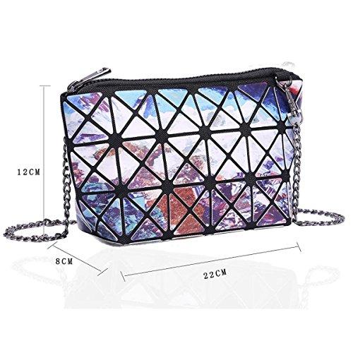 Xardi London Lydc media da donna sera frizione designer donne lunga catena spalla trucco borse Multi