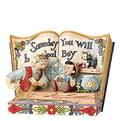 Disney Jim Shore Traditions by Enesco Pinocchio Storybook Figurine