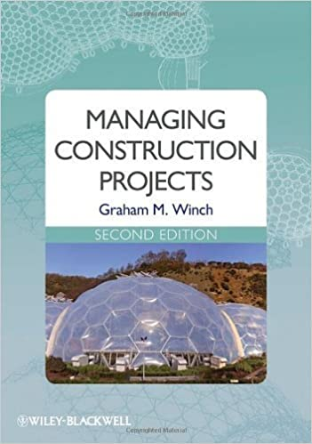 Managing Construction Projects by Graham M. Winch (2009-12-30)