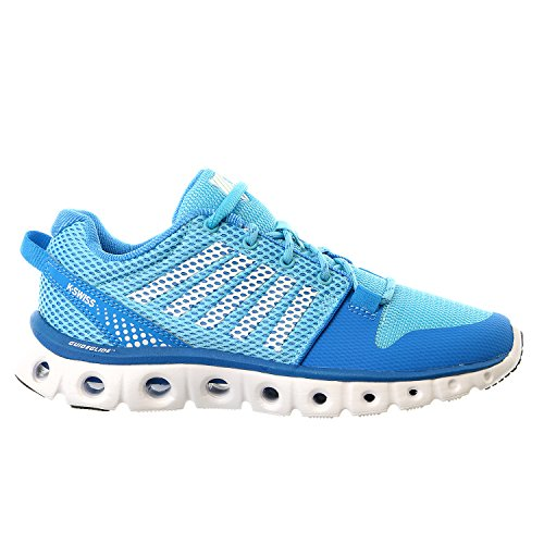 K-Swiss Women's X Lite Cross-Training Shoe, Blue Aster/Bachelor Button, 6 M US (K Swiss Womens Tubes Run 100 Athletic Shoe)